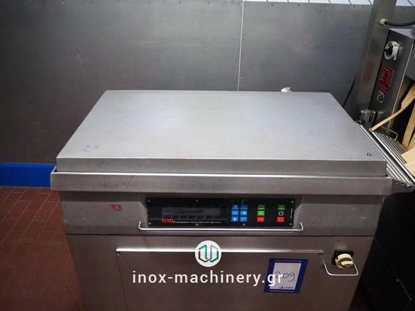μηχανήματα συσκευασίας τροφίμων τύπου καμπάναςγια την αλλαντοποιία, την επεξεργασία κρέατος, την αλλαντοποιϊα και τα αλιεύματα, από την Τηλέμαχος Κατσέλης-1