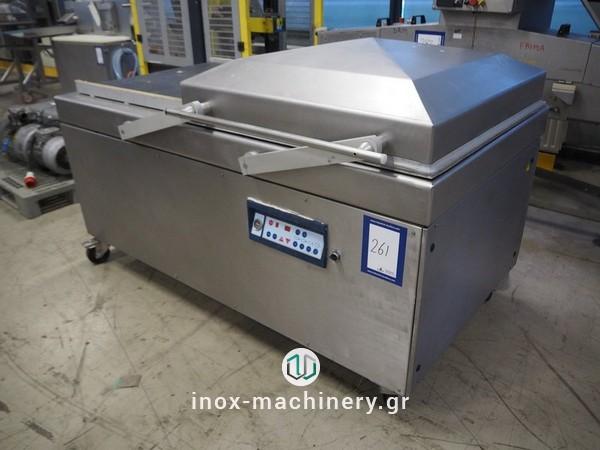 μηχανήματα συσκευασίας τροφίμων τύπου καμπάναςγια την αλλαντοποιία, την επεξεργασία κρέατος, την αλλαντοποιϊα και τα αλιεύματα, από την Τηλέμαχος Κατσέλης-2
