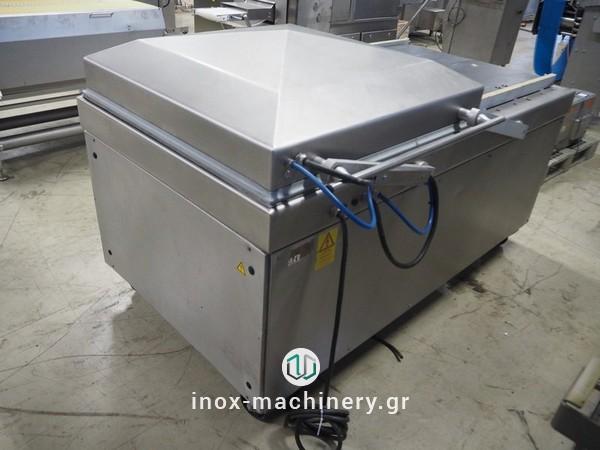 μηχανήματα συσκευασίας τροφίμων τύπου καμπάναςγια την αλλαντοποιία, την επεξεργασία κρέατος, την αλλαντοποιϊα και τα αλιεύματα