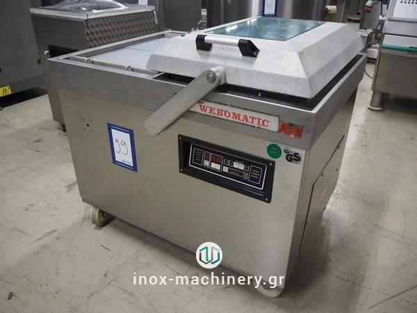 μηχανήματα συσκευασίας τροφίμων τύπου καμπάναςγια την αλλαντοποιία, την επεξεργασία κρέατος, την αλλαντοποιϊα και τα αλιεύματα, από την Τηλέμαχος Κατσέλης-4