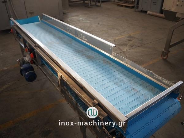 ταινίες μεταφοράς για τις μονάδες επεξεργασίας τροφίμων από την inox-machinery.gr, Τηλέμαχος Κατσέλης στις Αχαρνές-1