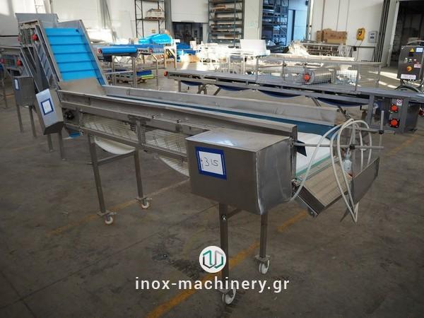 ταινίες μεταφοράς για τις μονάδες επεξεργασίας τροφίμων από την inox-machinery.gr, Τηλέμαχος Κατσέλης στις Αχαρνές-2