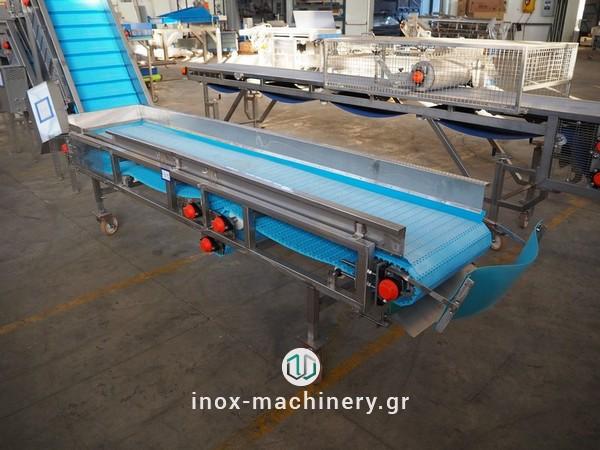 ταινίες μεταφοράς για τις μονάδες επεξεργασίας τροφίμων από την inox-machinery.gr, Τηλέμαχος Κατσέλης στις Αχαρνές