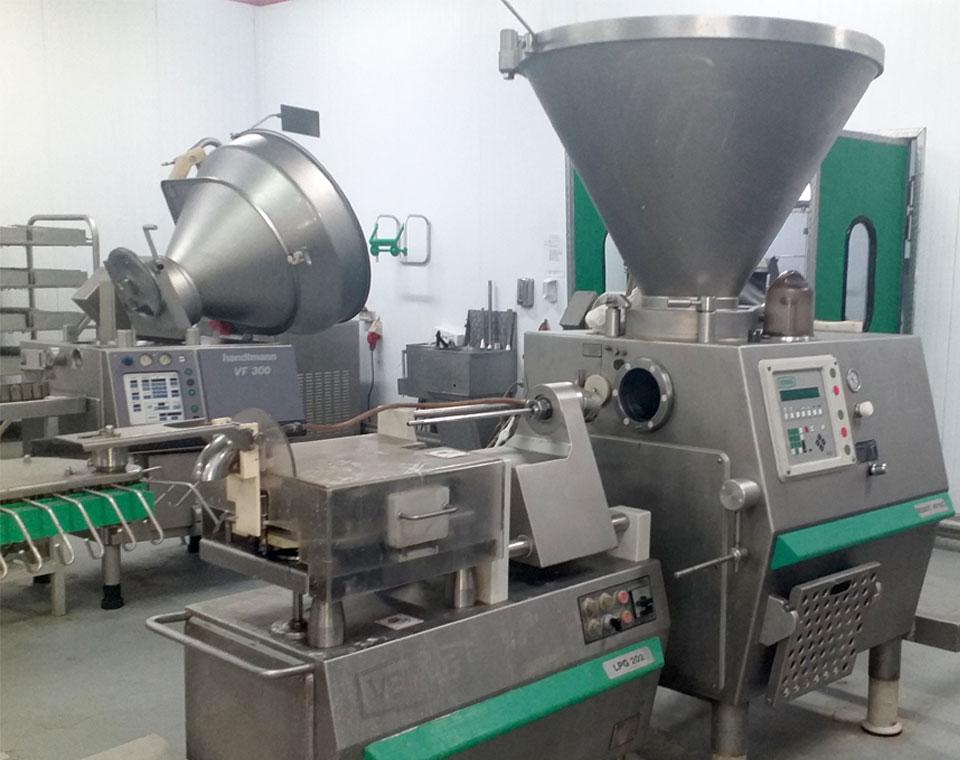 γεμιστικές μιχανές για την αλλαντοποιία από την εμπορία μηχανημάτων για τρόφιμα inox machinery