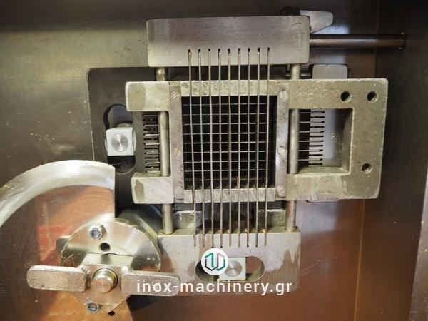 κυβοκοπτικά μηχανήματα για την επεξεργασία κρέατος και την αλλαντοποιία από την inox-machinery.gr, Τηλέμαχος Κατσέλης στην Αθήνα με μηχανήματα επεξεργασίας για την βιομηχανία τροφίμων