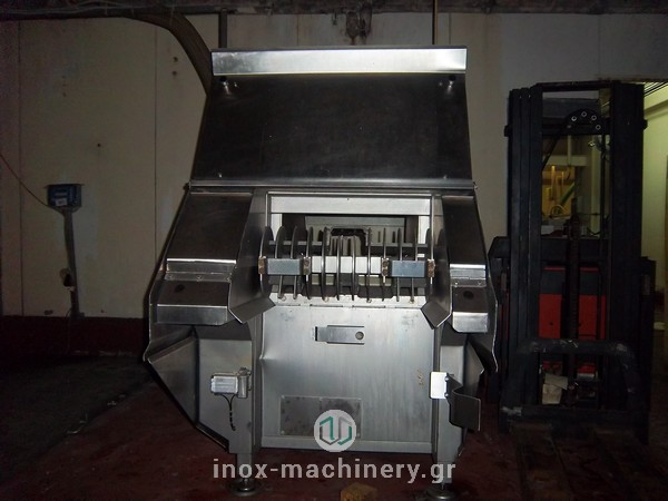 κοπτικό παγωμένου κρέατος τύπου flaker της Magurit διαθέσιμο από την εταιρία INOX MACHINERY ΤΗΛΕΜΑΧΟΣ ΚΑΤΣΕΛΗΣ στις Αχαρνές