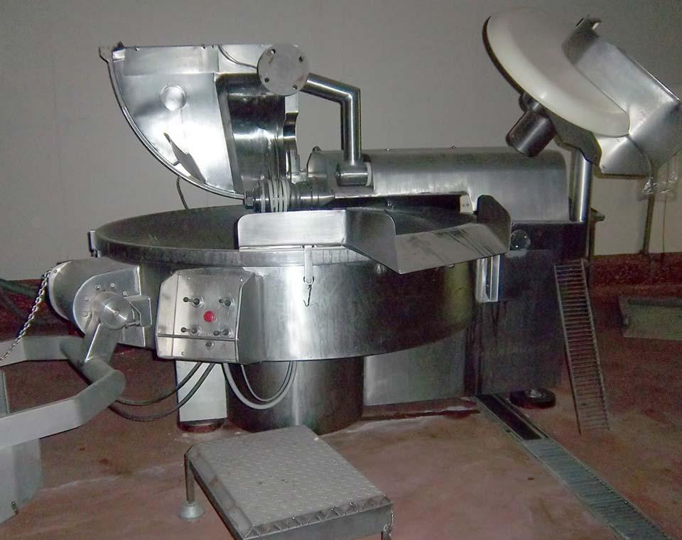 κούτερ μηχάνημα επεξεργασίας σαλάτας τύπου αλοιφής από την inox machinery στην Αθήνα