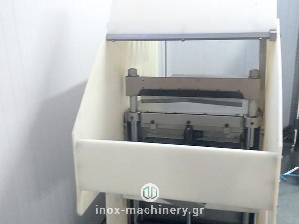 κοπτικό μηχάνημα για την επεξεργασία παγωμένου κρέατος από την inox machinery στην Αθήνα