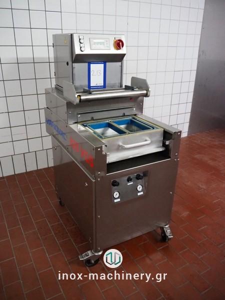 μεταχειρισμένες μηχανές συσκευασίας τύπου traysealer από την inox-machinery Τηλέμαχος Κατσέλης στην Αθήνα-2