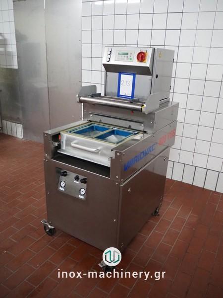 μεταχειρισμένες μηχανές συσκευασίας τύπου traysealer από την inox-machinery Τηλέμαχος Κατσέλης στην Αθήνα-3
