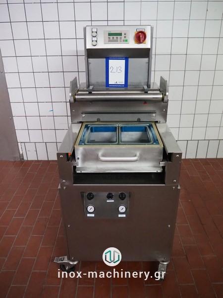 μεταχειρισμένες μηχανές συσκευασίας τύπου traysealer από την inox-machinery Τηλέμαχος Κατσέλης στην Αθήνα-5