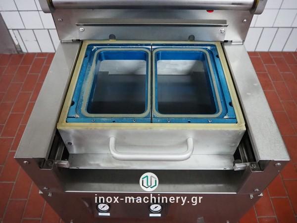 μεταχειρισμένες μηχανές συσκευασίας τύπου traysealer από την inox-machinery Τηλέμαχος Κατσέλης στην Αθήνα-6