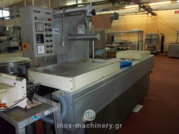 συσκευαστικά μηχανήματα θερμοδιαμόρφωσης για την αλλαντοποιία και την επεξεργασία κρέατος από την inoxMachinery, Τηλέμαχος Κατσέλης στις Αχαρνές