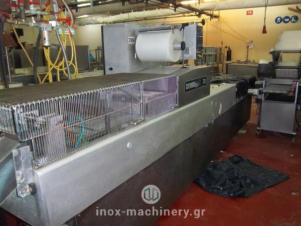 Συσκευαστικά μηχανήματα θερμοδιαμόρφωσης για την βιομηχανία τροφίμων από την inoxmachinery, Τηλέμαχος Κατσέλης στην Αθήνα