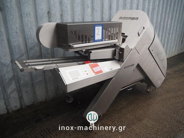 κοπτικό μηχάνημα επεξεργασίας κρέατος για την κοπή έτοιμων προίόντων σε φέτες από την inox-machinery.gr, Τηλέμαχος Κατσέλης
