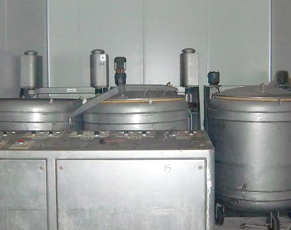 μηχανήματα αλιευμάτων, βαρέλες μάλαξης για μαλάκια από την inox machinery στην Αθήνα