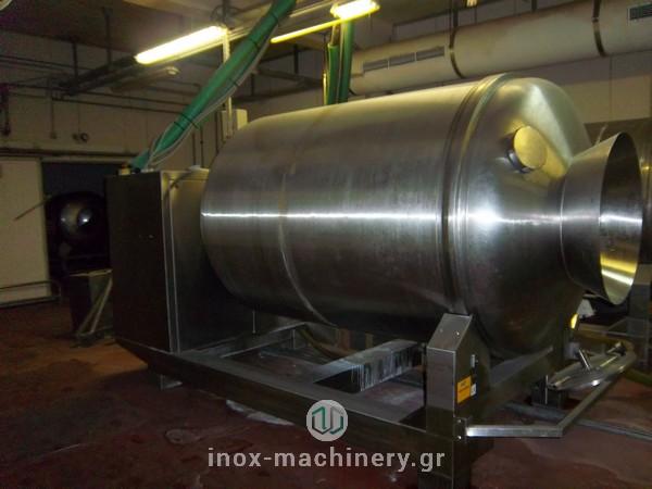 βαρέλα μάλαξης για κρέας από την εταιρία μηχανημάτων για την βιομηχανία τροφίμων InoxMachinery, Τηλέμαχος Κατσέλης στην Αθήνα-2