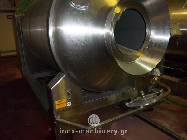 βαρέλα μάλαξης για κρέας από την εταιρία μηχανημάτων για την βιομηχανία τροφίμων InoxMachinery, Τηλέμαχος Κατσέλης στην Αθήνα-3