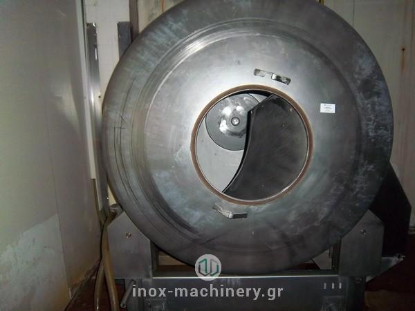 βαρέλα μάλαξης κρέατος από την εταιρία μηχανημάτων για την βιομηχανία τροφίμων InoxMachinery, Τηλέμαχος Κατσέλης στην Αθήνα