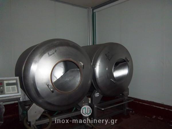 βαρέλες μάλαξης κρέατος από την εταιρία μηχανημάτων για την βιομηχανία τροφίμων InoxMachinery, Τηλέμαχος Κατσέλης στην Αθήνα-1