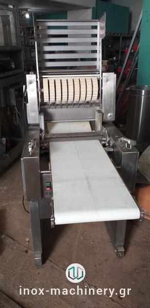 φιλεταριστικό μηχάνημα ή ξελαρδιάστρα από την inox-machinery, Τηλέμαχος Κατσέλης στις Αχαρνές